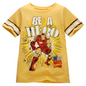 ''Be a Hero'' Iron Man Tee
