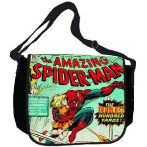 Comic Print Spider-Man Messenger Bag