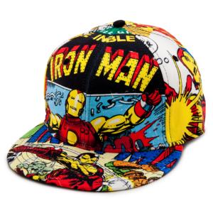 Flat Bill Marvel Comics Iron Man Baseball Cap