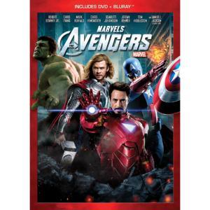 2-Disc Marvel's The Avengers DVD/Blu-ray Combo Pack
