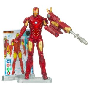 Iron Man 'Mark IV' Iron Man 2 Action Figure -- 4''