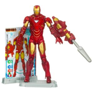 Iron Man 'Mark VI' Iron Man 2 Action Figure -- 4''
