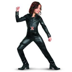 The Avengers Black Widow Costume for Girls