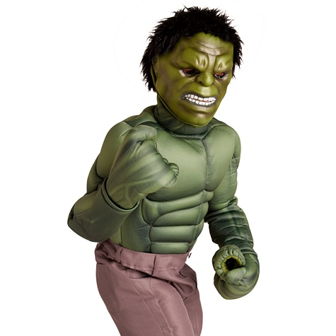 The Avengers Deluxe Hulk Costume for Boys