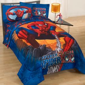 Spider Mans Bedroom : Marvel Amazing Spider Man Twin Bedding Set 4pc Stick With Me Spiderman ...