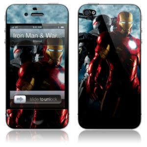 ''Iron Man and War Machine'' Iron Man 2 iPhone 4 Skin