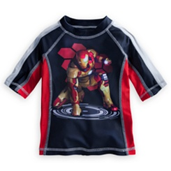 Iron Man 3 Rash Guard for Boys