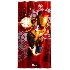 Iron Man 3 Beach Towel - Personalizable