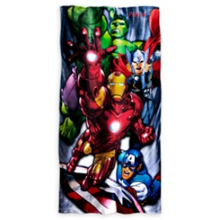Avengers Beach Towel - Personalizable