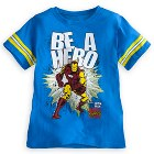Iron Man Tee for Boys by Mighty Fine