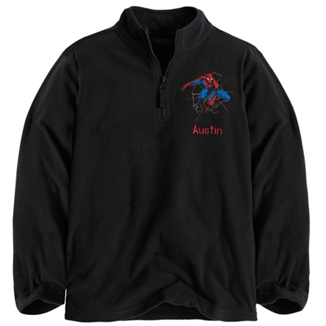 Spider-Man Fleece Pullover for Boys