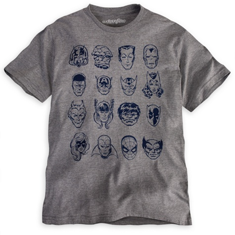 Marvel Universe Tee for Men by Mighty Fine