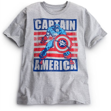 Captain America Tee for Men