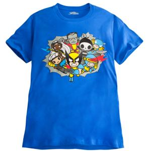 Super Crew X-Men Tee for Men by Tokidoki