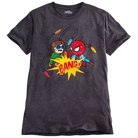 ''Bang!'' Spider-Man Tee for Men by Tokidoki