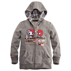 ''Spidey Kaiten'' Spider-Man Hoodie for Women by Tokidoki