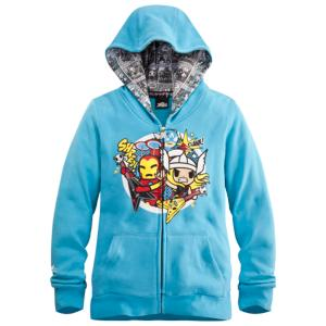 The Avengers Hoodie for Women by Tokidoki