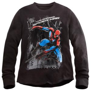Long Sleeve Thermal The Amazing Spider-Man Tee for Men