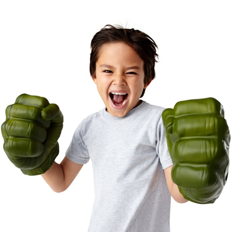 The Avengers Incredible Hulk Gamma Green Smash Fists by Hasbro