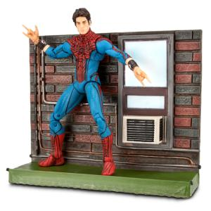 Marvel Select The Amazing Spider-Man: Unmasked Spider-Man Action Figure -- 7 H