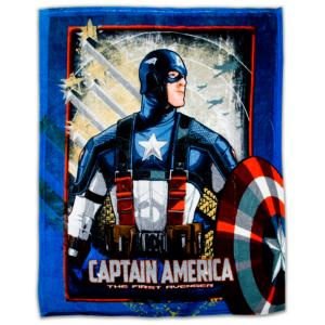 Captain America Fleece Blanket