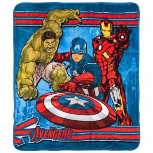 Fleece Throw The Avengers Blanket