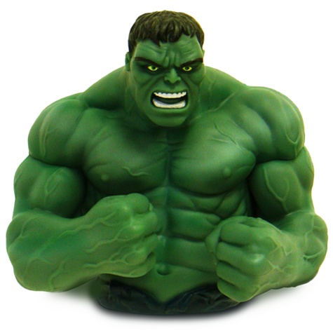 The Hulk Bust Bank