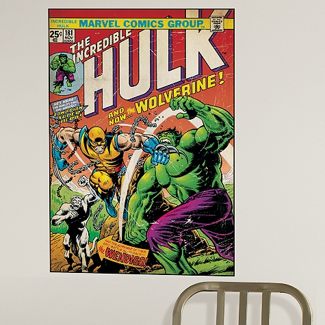 The Incredible Hulk Wall Graphic