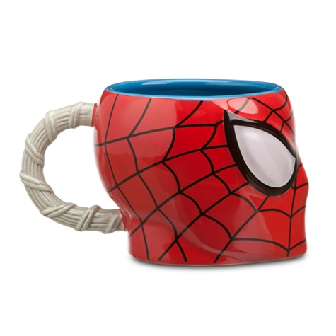 Sculptured Spider-Man Mug