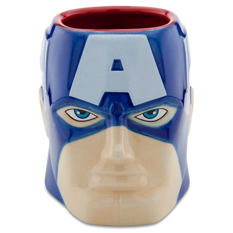 Sculptured Captain America Mug