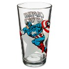 Glass Captain America Tumbler