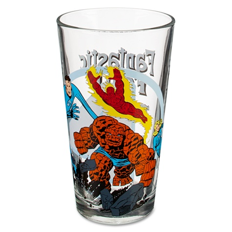 Glass Fantastic Four Tumbler