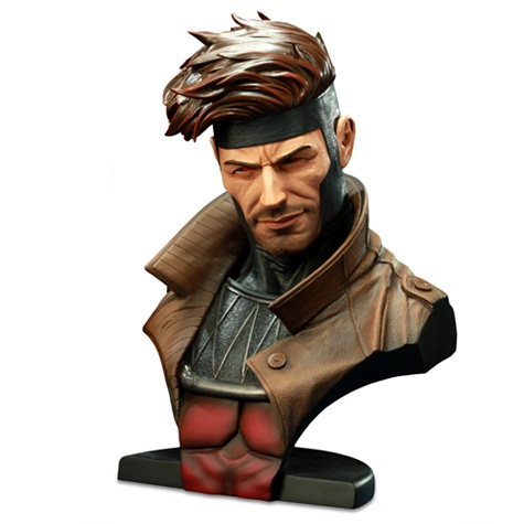 Legendary Scale Bust Gambit Figure by Sideshow Collectibles