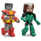 Marvel MiniMates Series 47 - 2-Pack - Rogue & Colossus