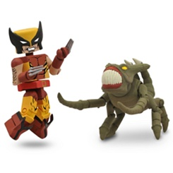 Marvel MiniMates Series 47 - 2-Pack - Wolverine & Brood