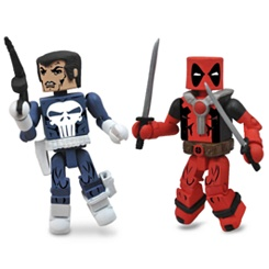 Marvel MiniMates Best of Series - 2-Pack - Punisher & Deadpool