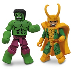 Marvel MiniMates Best of Series - 2-Pack - Hulk & Loki
