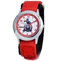 Time Teacher Captain America Watch for Kids
