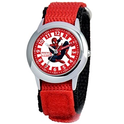 Spider-Man Time Teacher Watch for Kids