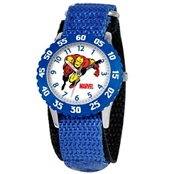 Iron Man Time Teacher Watch for Kids